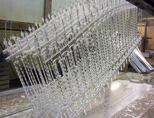 Антикоррозийная обработка металлических деталей